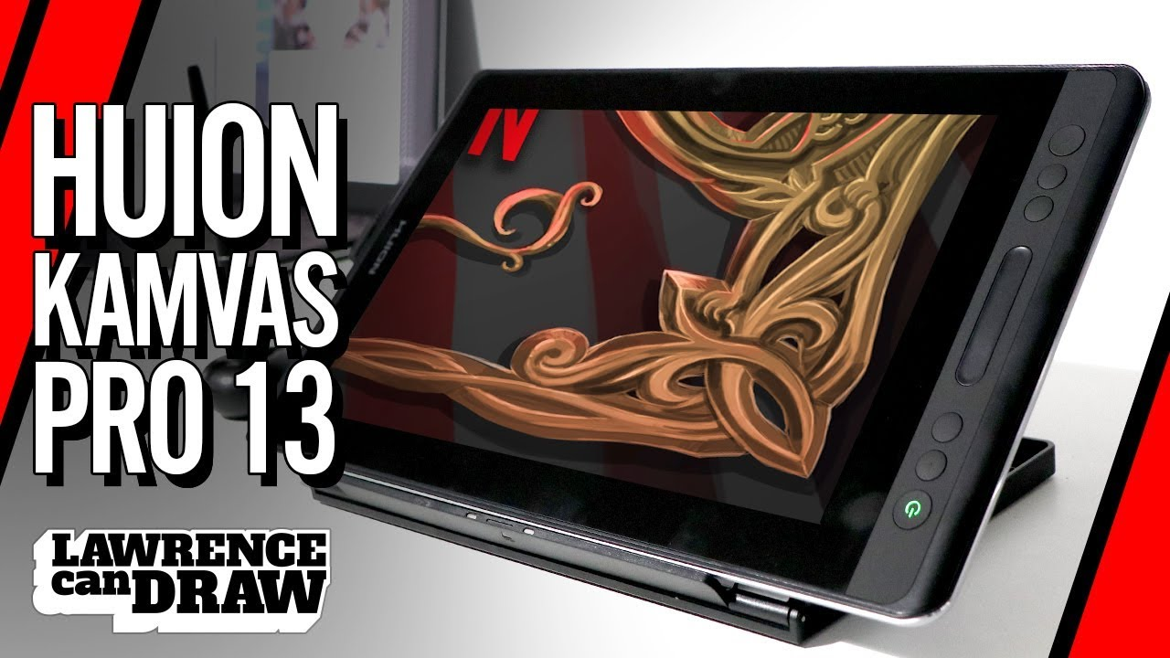 Huion Kamvas Pro 13 Review with Speed Painting