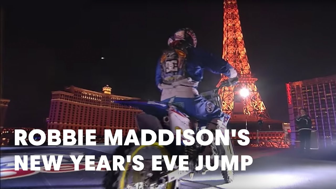 robbie maddisons 2008 new years eve jump