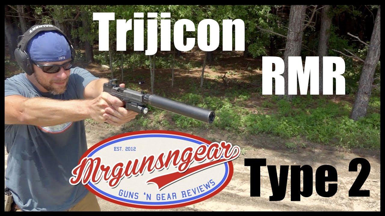 Trijicon Type 2 LED Adjustable RMR: Best Handgun Red Dot Ever? (HD)