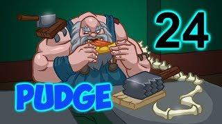 Time to Pudge - 24 выпуск.  5300 solo Средний ммр