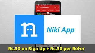 Niki App - ₹30 SignUp + ₹30 Refer | Recharge & Utility Bill Payment
