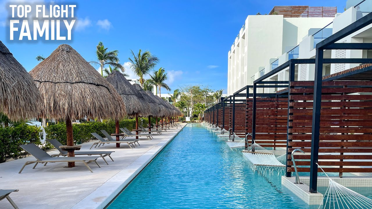 In a pristine tropical landscape nestled between the caribbean. Cancun All Inclusive With A Modern Minimalist Vibe Finest Playa Mujeres Youtube