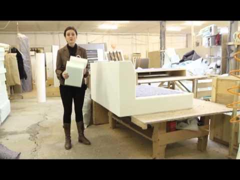 Как изготавливают особенные диваны на основе стандартной модели