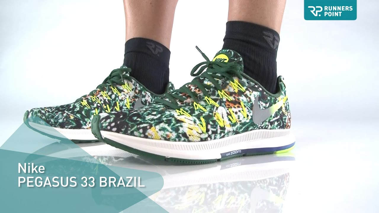 5db5dd7a3dc7 ... new style nike air zoom pegasus 33 brazil bbf2b 8e6d4
