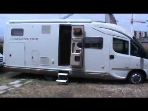 GENETICS K900  MOTORHOME GIOTTILINE  AREA CAMPER  YouTube