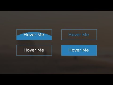 Buttons With Awesome Hover Effects Using Only HTML & CSS