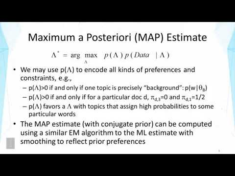 DATA MINING   3 Text Mining and Analytics   3 9 Latent Dirichlet Allocation LDA Part 1
