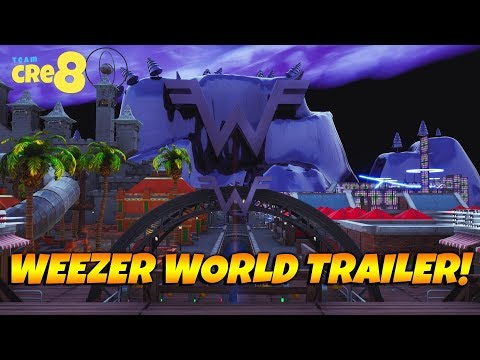 Fortnite WEEZER WORLD Trailer! With Code! Mp3