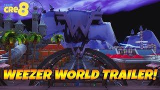 Fortnite WEEZER WORLD Trailer! With Code!