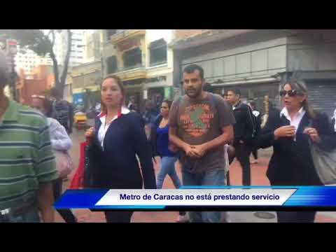 En Caracas la semana comenzó con problemas en el transporte terrestre