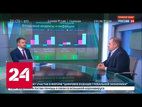 Экономика. Курс дня, 27 января 2020 года - Россия 24