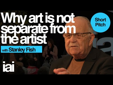 Art is not separate from the artist | Stanley Fish Mp3