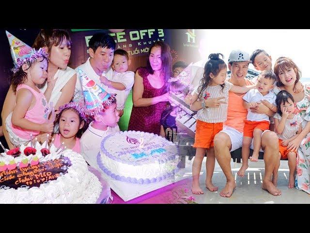Lý Hải Minh Hà chi mạnh tay cho tiệc sinh nhật hoành tráng của con út Mio tại khu resort biển