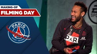 FILMING DAY : BEHIND THE SCENES with MBAPPE and NEYMAR JR