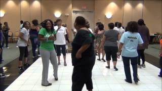 Southside Steppers 4th Anniversary Workshop ( Jam Tonight Line Dance Instructional)