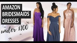 Amazon Bridesmaids Dresses Under $100 (2019) | Affordable bridesmaids dresses