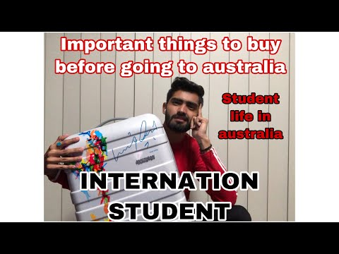 Important Things To Buy Before Going To Australia   International Students