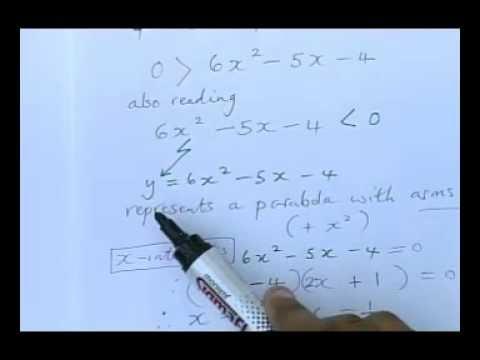 Matric Revision Maths Paper 1 November 2010 1 6 Q 1 1 Quadratic Theory