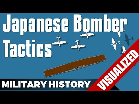 Japanese Bomber Tactics (Navy) World War 2