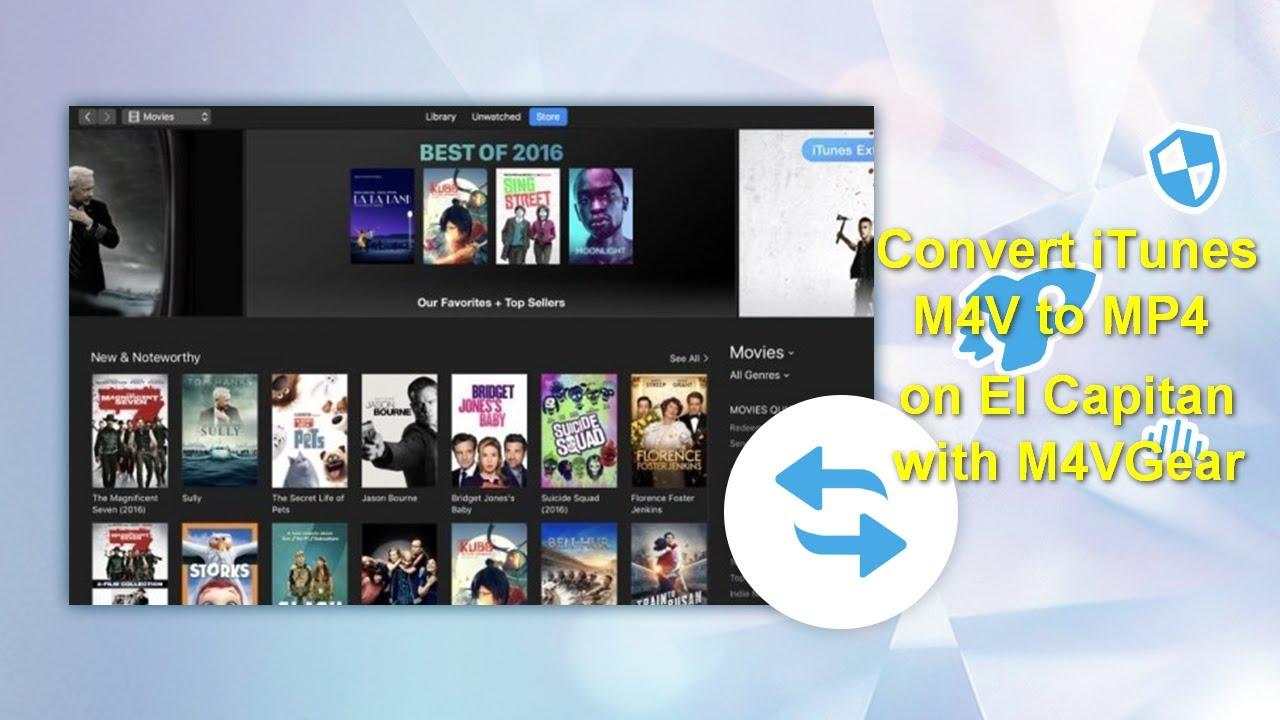 Remove DRM & Convert iTunes M4V to MP4 | M4VGear