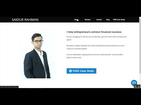 Clickfunnel Convert into WordPress - Saidurrahman.org website Design project - Edevelopmark.com
