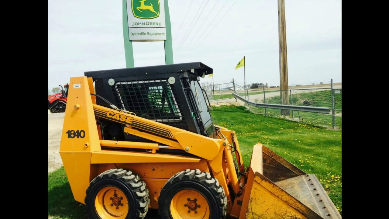 2001 Case 1840 Skid Steer with 1150 Hours For Sale