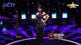 "Evony Arty ""Pelangi Dimatamu"" Jamrud  - Rising Star Indonesia Best Of 6 Eps 22"