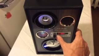 MP3 FD-B46 бумбокс магнитола USB