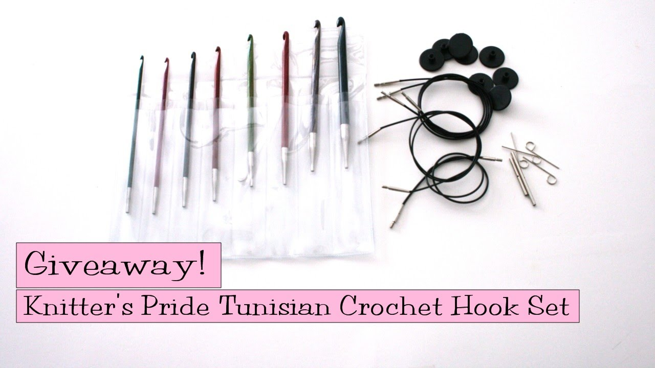 Giveaway Knitters Pride Interchangeable Tunisian Crochet Hook Set