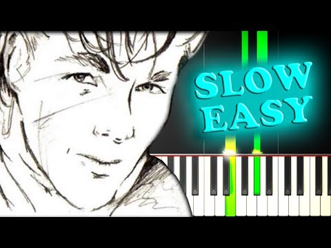 A-HA - TAKE ON ME - Slow Easy Piano Tutorial