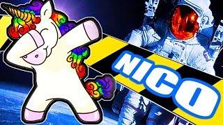 Je teste le jeu de NICO : unicorn. Un jeu où nous allons incarner u...