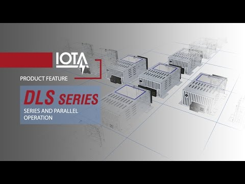 Series and Parallel operation with the DLS Charger / Converter