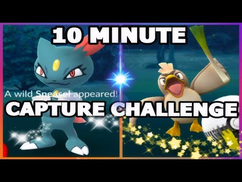 Download Youtube: POKEMON GO 10 MINUTE GLOBAL CATCH CHALLENGE