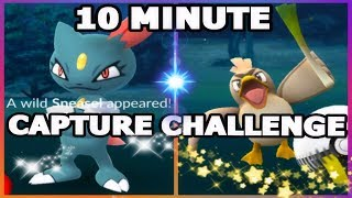 POKEMON GO 10 MINUTE GLOBAL CATCH CHALLENGE
