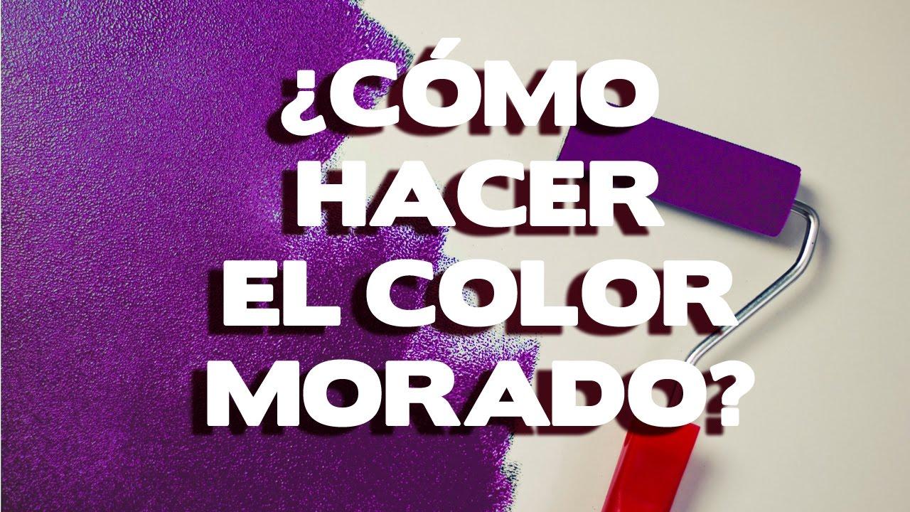 Como hacer color morado 3 metodos y mezclas efectivas for Como se combina el color violeta