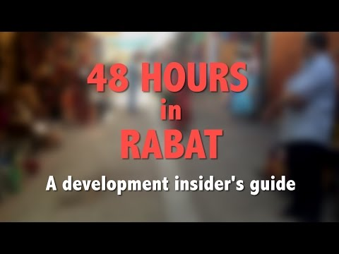 48 hours in Rabat