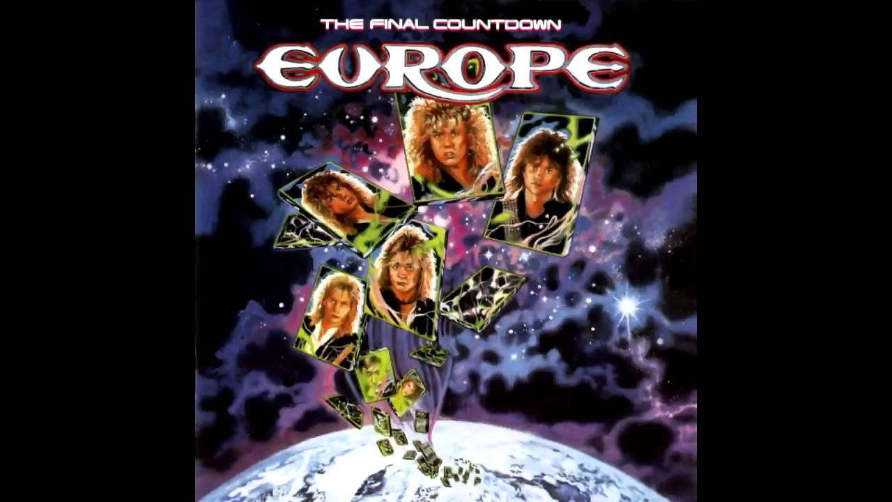 Europe The Final Countdown Backing Track Youtube