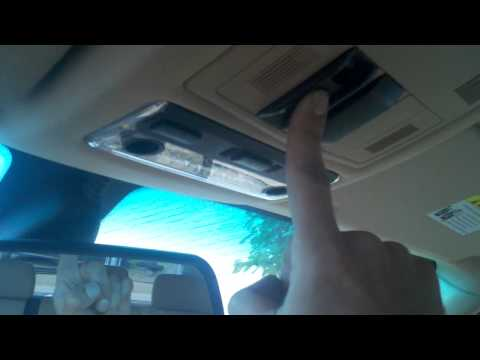 BMW Sunroof Initialization Procedure Panoramic Roof