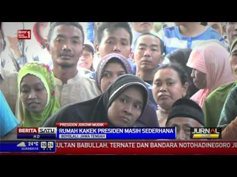 Jokowi Bernostalgia Ke Rumah Kakeknya Di Boyolali