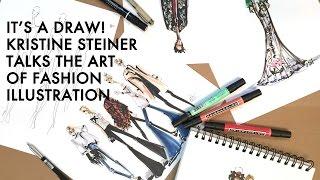 G&F loves Fashion Illustrator Kristine Steiner