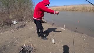 Весенний выезд на рыбалку 2021г.!!!река Или Рыбалка в Алматы!!!