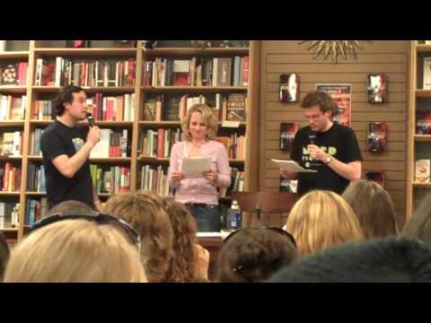 John Green & David Levithan Talk About Will Grayson - Will Grayson