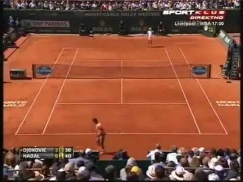 Rafael Nadal vs Novak Djokovic - ATP Masters Monte Carlo 2012-Skrót