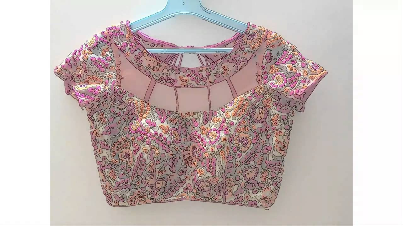 Cut Work Embroidery Blouses 42