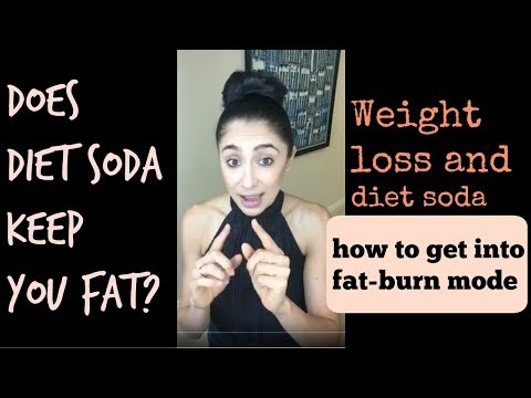 Do Diet Sodas keep you fat? Do sugar free drinks and artificial sweeteners stall weight loss ?