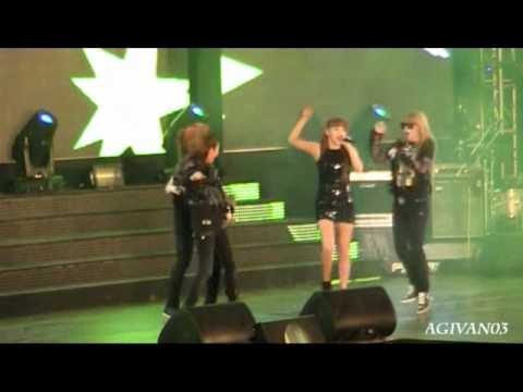 "[FANCAM] 101218 2NE1 - ""Don't Stop The Music"" @ Urban Space YAMAHA FIORE'"