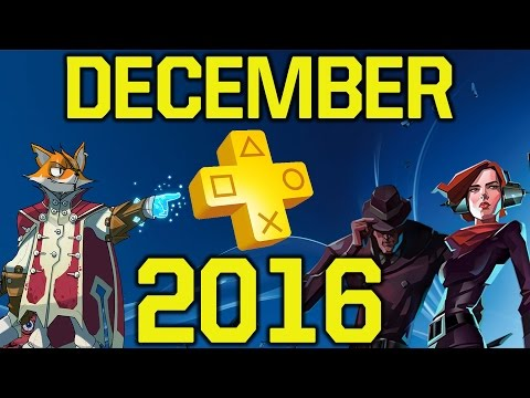 PlayStation Plus December 2016 lineup REACTION & ALL GAMES REVIEW (PS Plus december 2016)