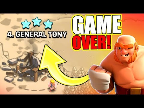 REVENGE OF GENERAL TONY!! - Clash Of Clans
