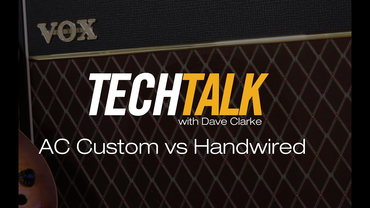 The difference between the AC Custom series and Hand Wired series