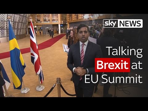Political Editor Faisal Islam talks Brexit from the EU Summit